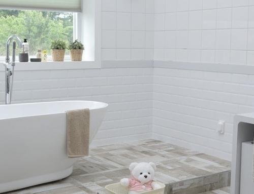 Accesorio para el baño. Ideas para dar un toque original y práctico