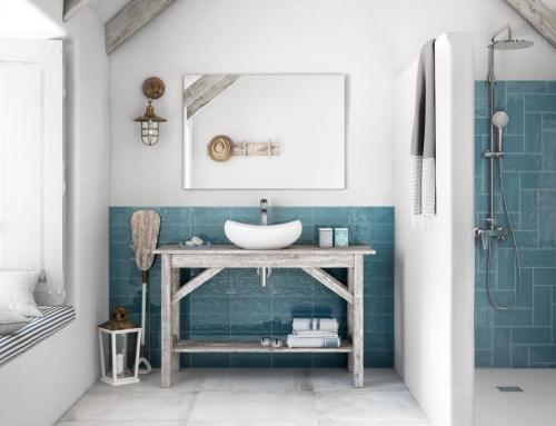 Decora tu baño al estilo mediterraneo